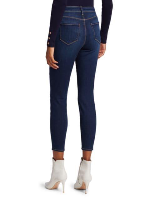 L'Agence Margot High-Rise Skinny Jeans   SaksFifthAvenue