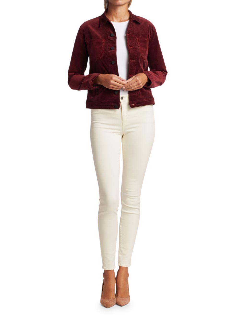 L'Agence Celine Slim Femme Velvet Jacket | SaksFifthAvenue