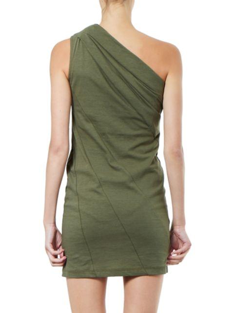 RtA Arie One-Shoulder Mini Dress   SaksFifthAvenue