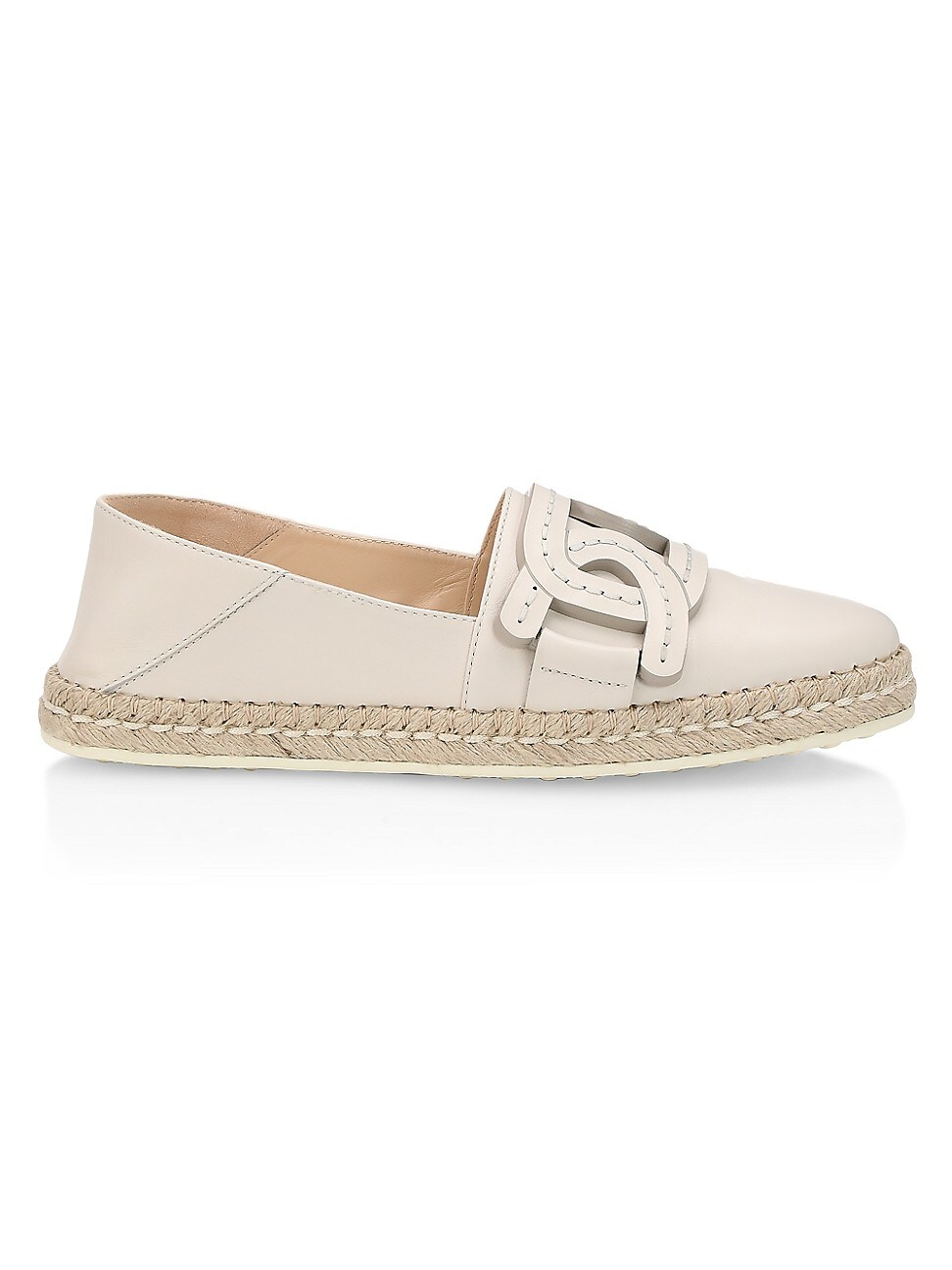 Tod's WOMEN'S KATE LEATHER ESPADRILLES