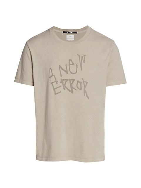 Error Slogan T-Shirt