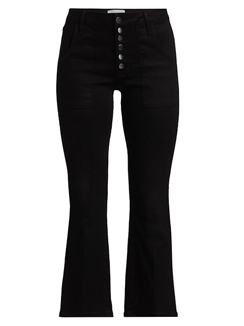 Le Cropped Mini Bootcut Jeans