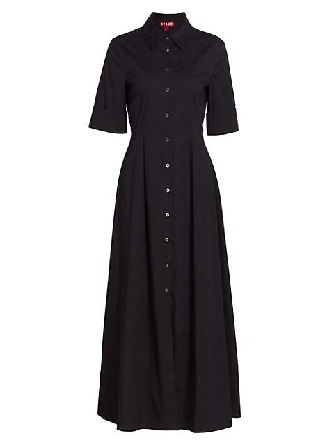 Joan Collared Maxi Shirtdress