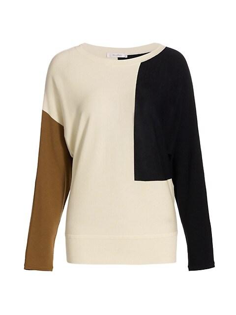 Taiga Colorblock Wool Sweater