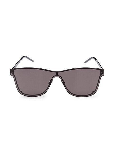 New Wave 51MM Square Shield Sunglasses