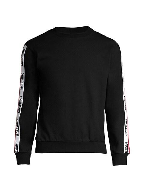 Logo Trim Sweatshirt