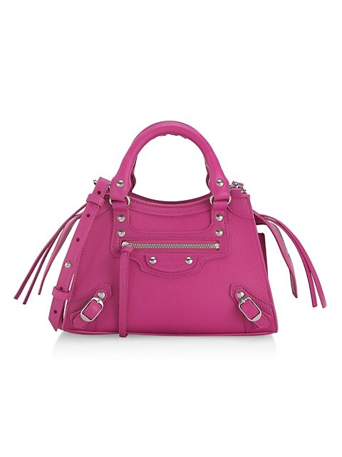 Mini Neo Classic Leather Satchel