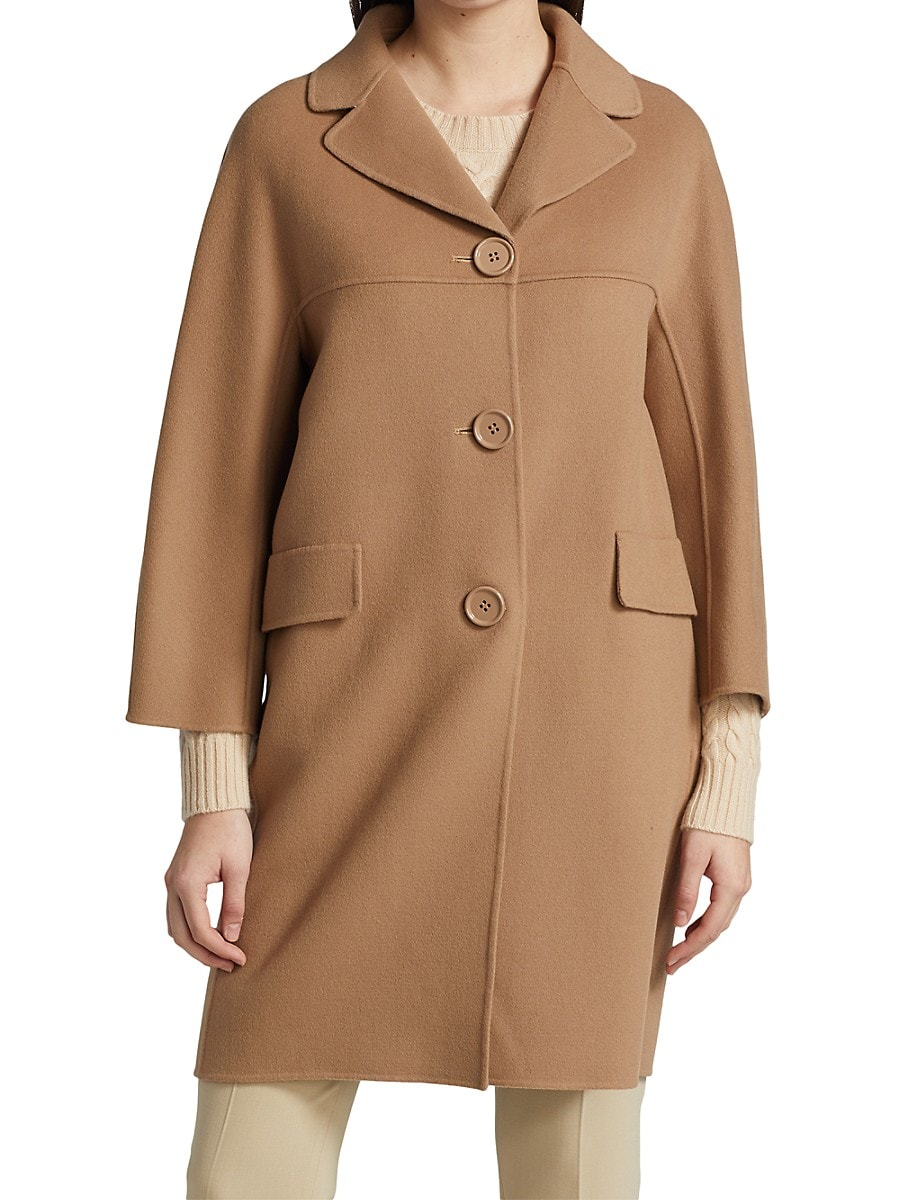 MAX MARA Wools WOMEN'S ARIANNA WOOL MID-LENGTH COAT