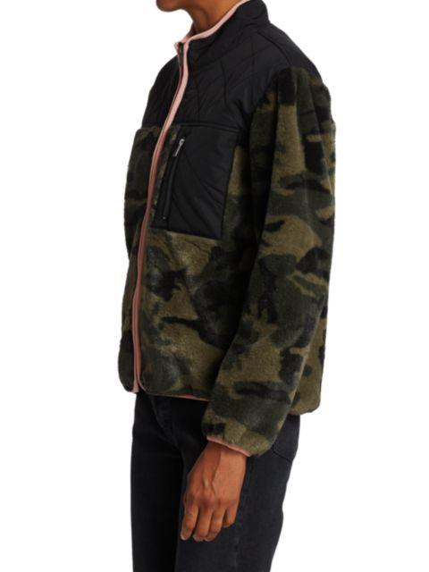 Rails Wesley Camouflage Quilt-Patch Fleece Jacket | SaksFifthAvenue