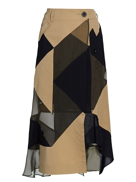 Hank Willis Thomas Patchwork Skirt