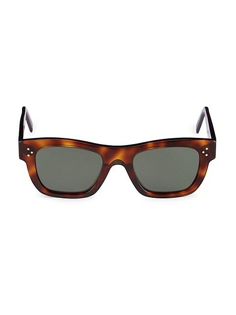 51MM Plastic Square Sunglasses