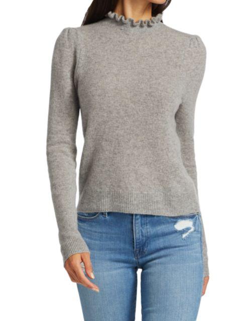 Frame Josefine Ruffleneck Sweater | SaksFifthAvenue