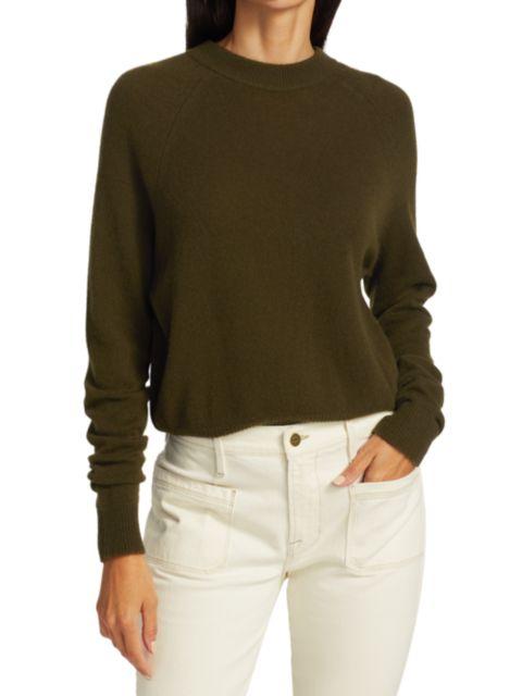 Frame Fitz Crewneck Sweater | SaksFifthAvenue