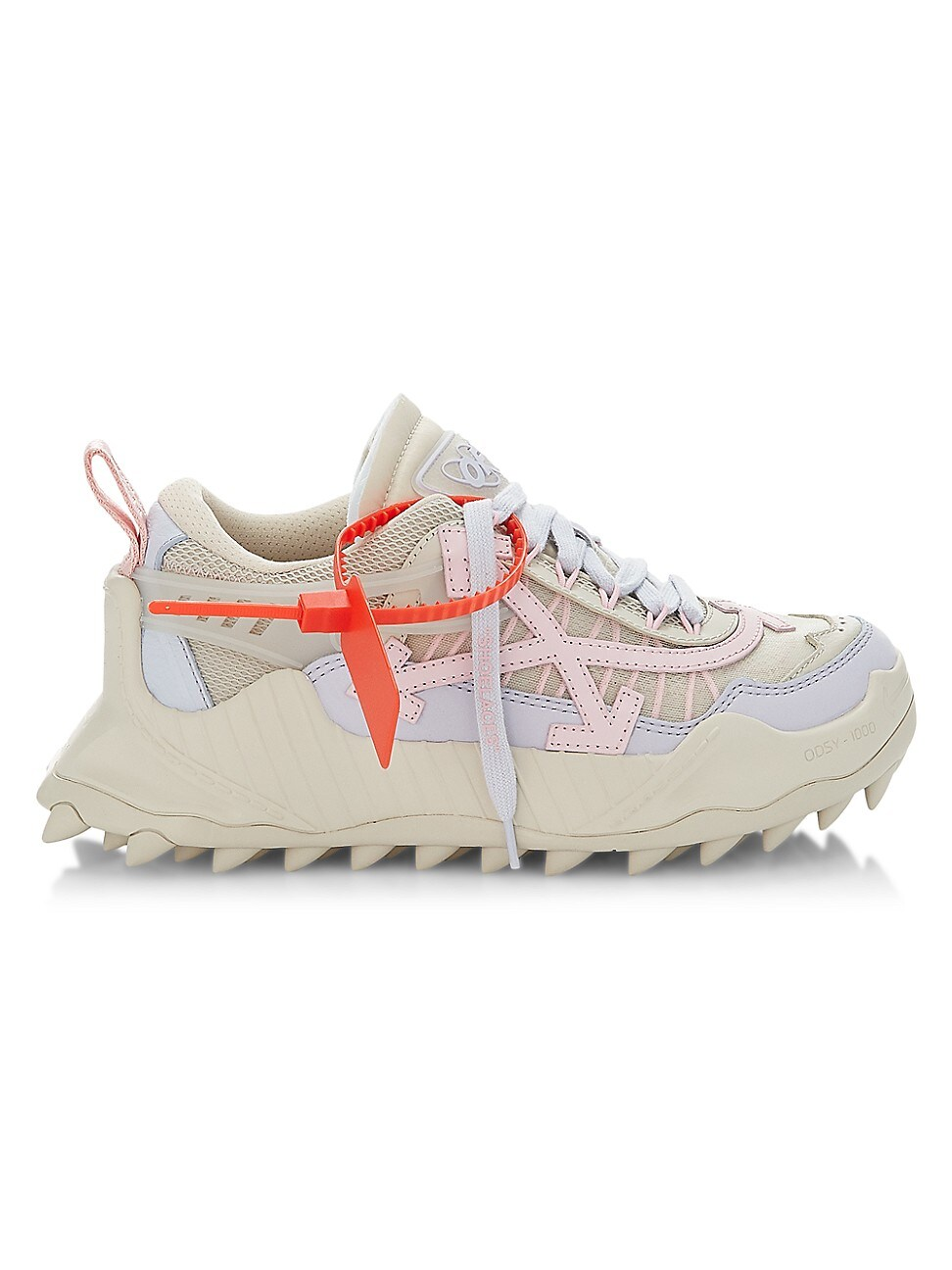 Off-White Leathers WOMEN'S ODSY-1000 LOW-TOP SNEAKERS