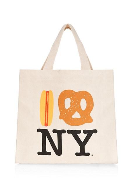 Hot Dog Pretzel NY Eco Mini Tote Bag