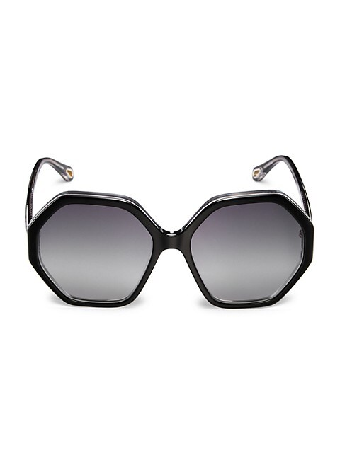 58MM Octagon Sunglasses