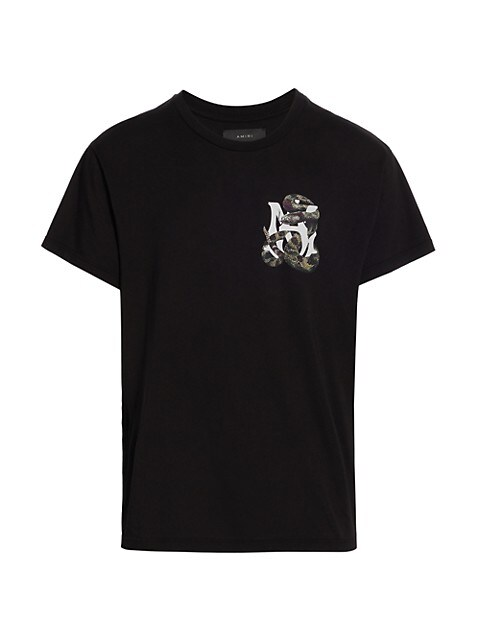 Amiri Snake Logo Graphic T-Shirt