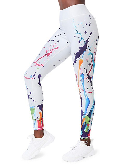 Terez New Year New You Splatter Leggings