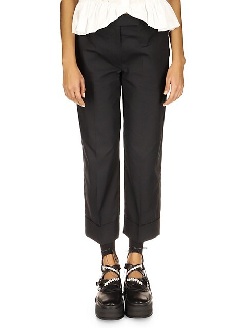 Straight Leg Trousers