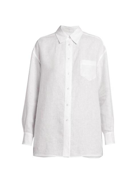 Fabienne Solaire Linen Shirt