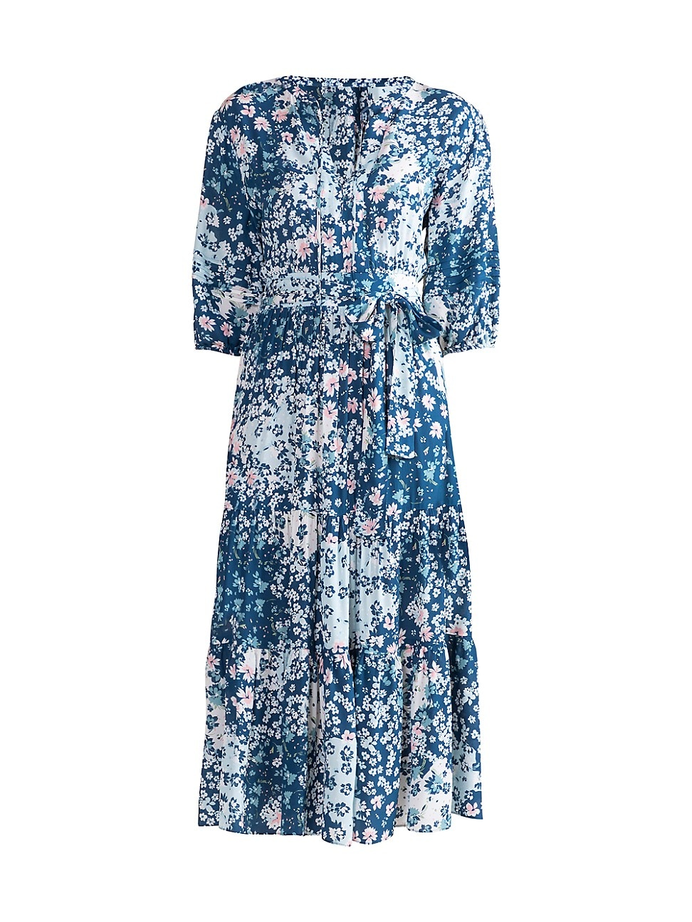 Shoshanna WOMEN'S GRAND FLORAL MIDI DRESS