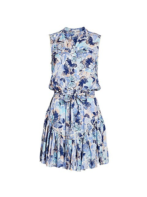 Felicia Sleeveless Floral Mini Dress