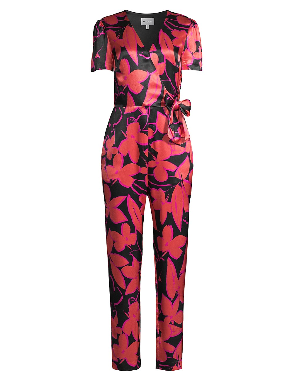 Milly WOMEN'S GARLAND FLORAL JUMPSUIT