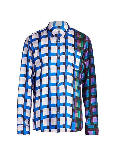 Corbino Check Viscose Shirt