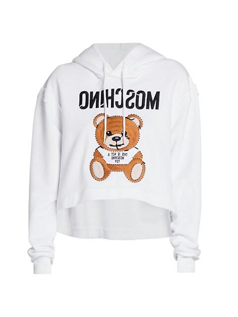 Cropped Teddy Sweatshirt