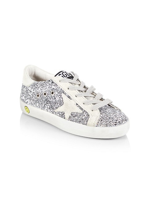 Baby's, Little Kid's & Kid's Superstar Glitter Sneakers