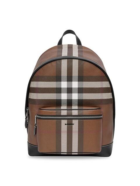 Jett Check Logo Backpack