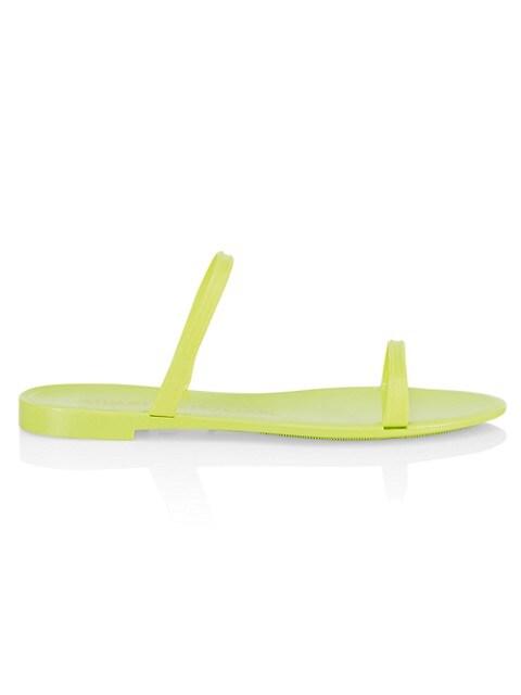 Sawyer Neon Jelly Slides