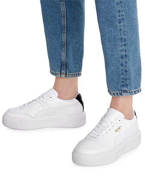 Women's Oslo Maja Leather Sneakers