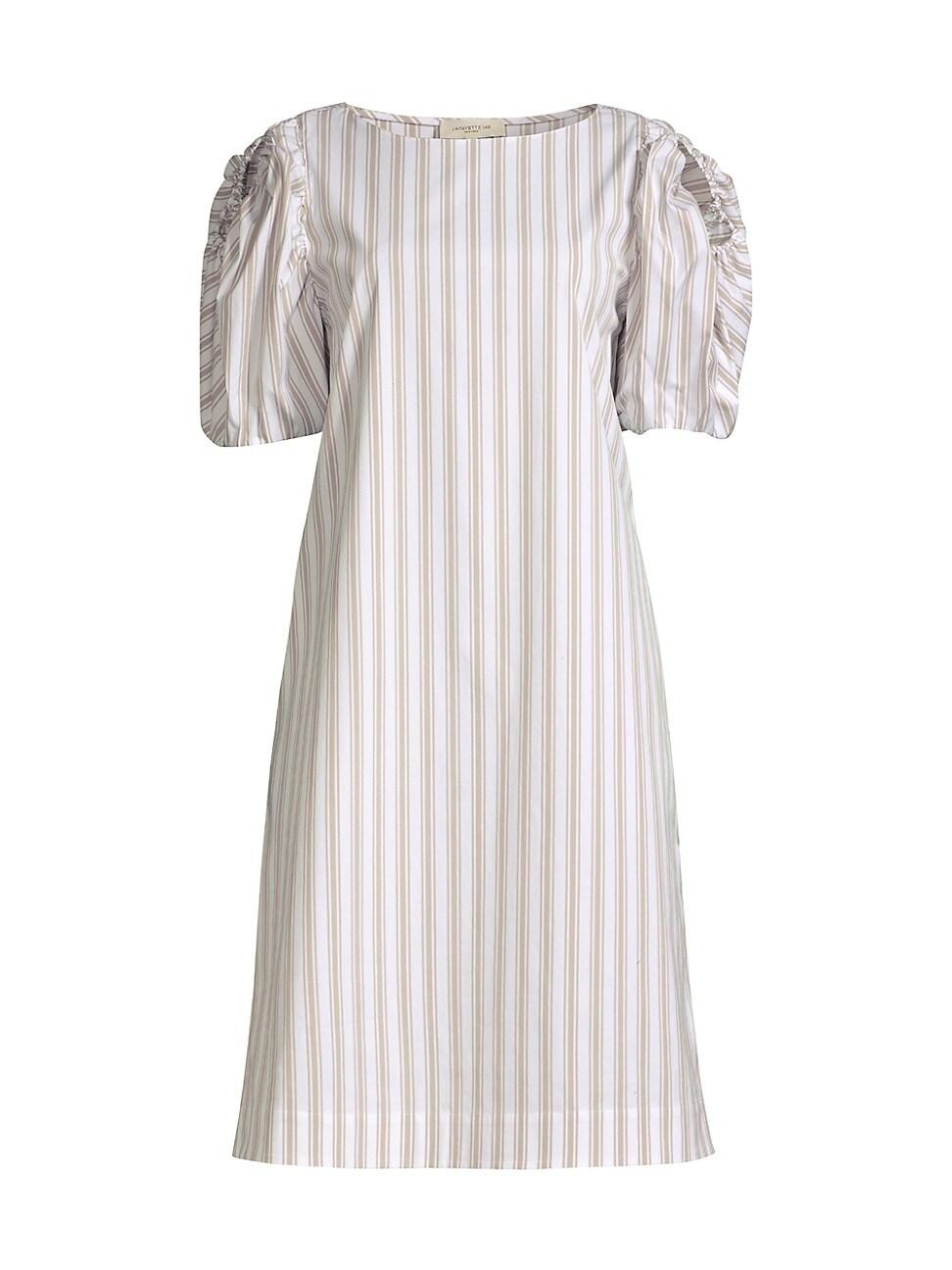 Lafayette 148 WOMEN'S HATTIE PENCIL STRIPED DRESS