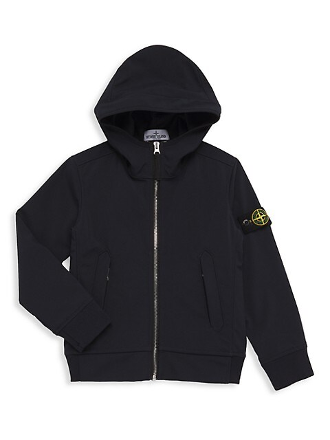 Little Boy's and Boy's Hooded Jacket