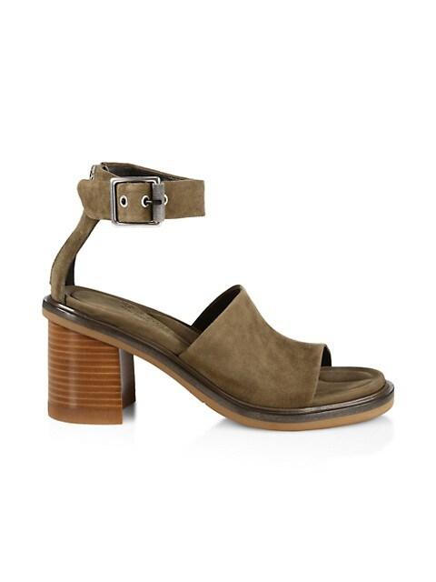 Soren Suede Ankle-Strap Sandals