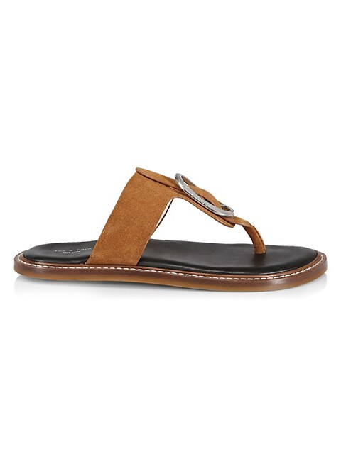 Ansley Suede Thong Sandals