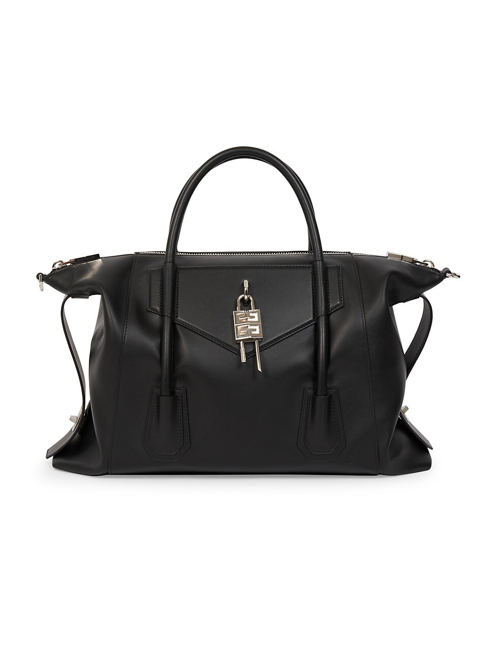 Givenchy Leathers WOMEN'S MEDIUM ANTIGONA LOCK SOFT LEATHER SATCHEL