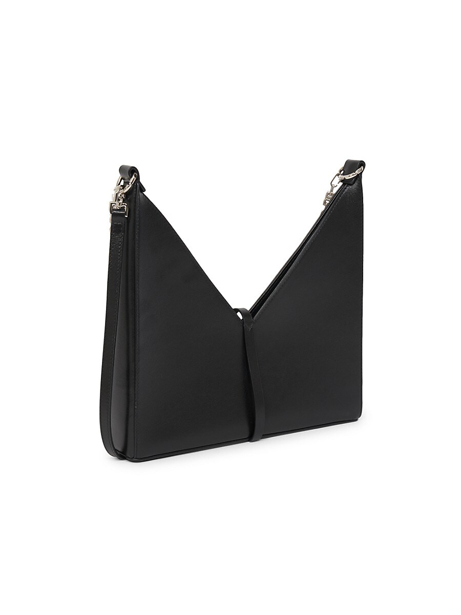 GIVENCHY Leathers WOMEN'S SMALL CUT OUT CHAIN LEATHER SHOULDER BAG