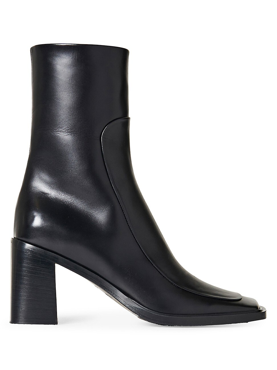 The Row Leathers WOMEN'S PATCH SQUARE-TOE LEATHER BOOTS