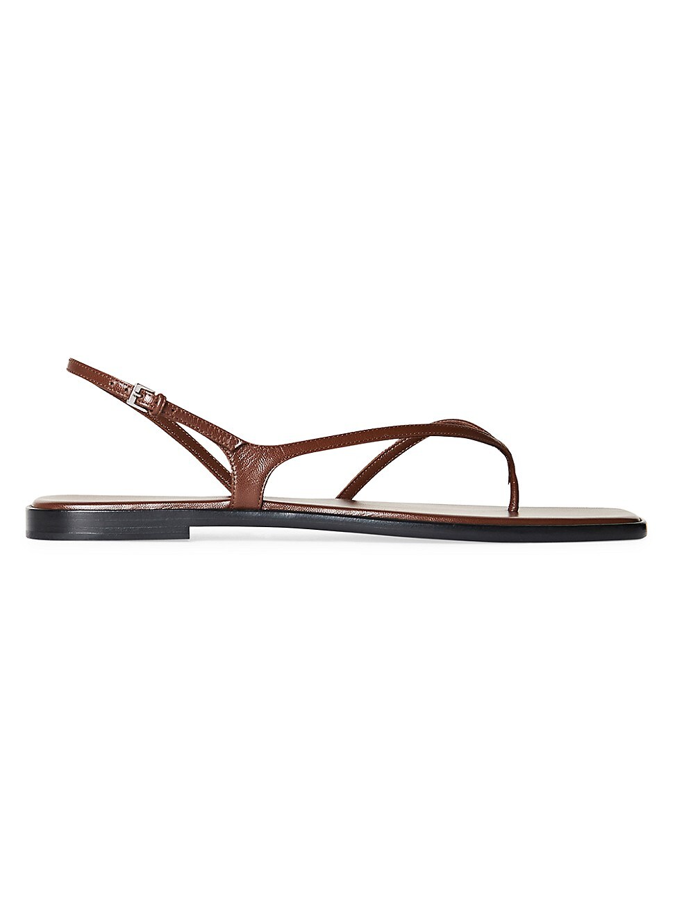 The Row Leathers WOMEN'S CONSTANCE FLAT LEATHER SANDALS