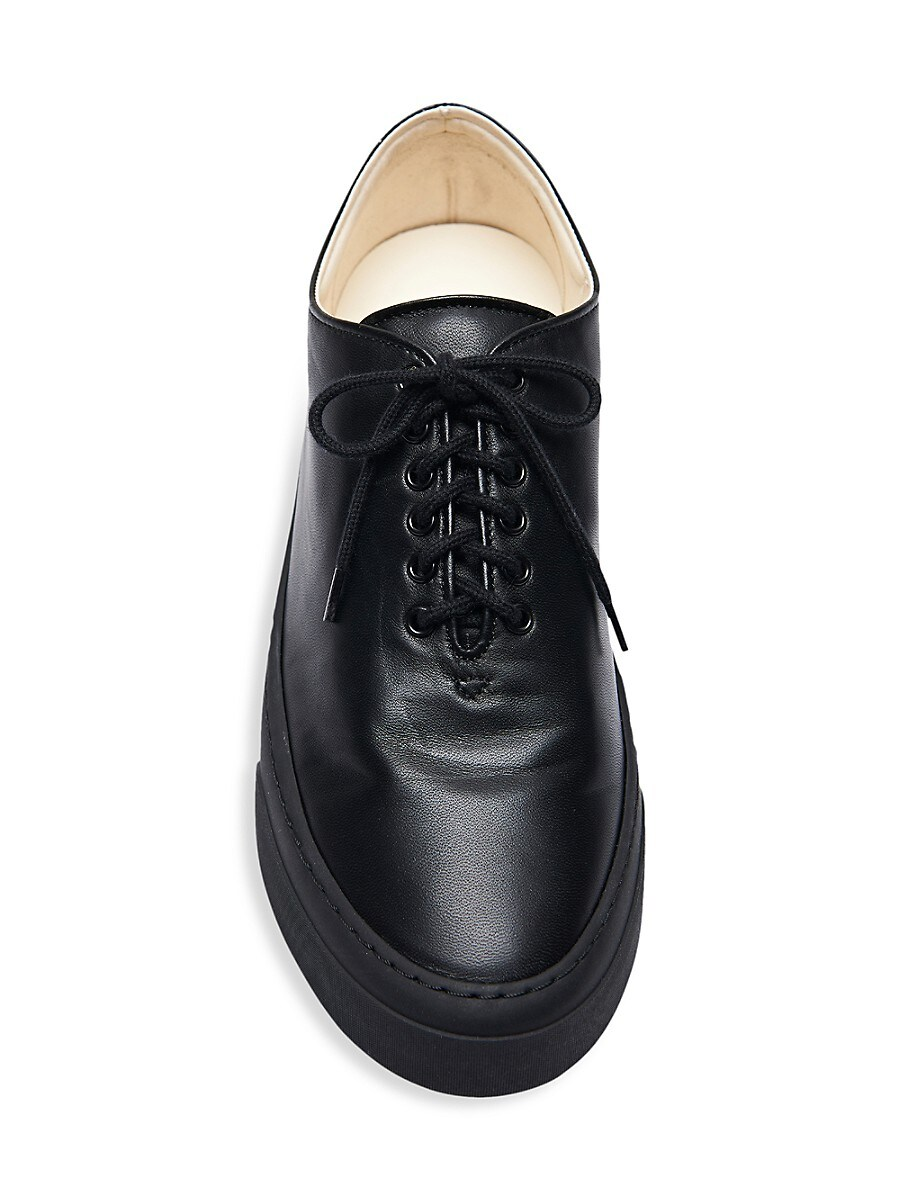 THE ROW Leathers WOMEN'S MARIE LEATHER SNEAKERS