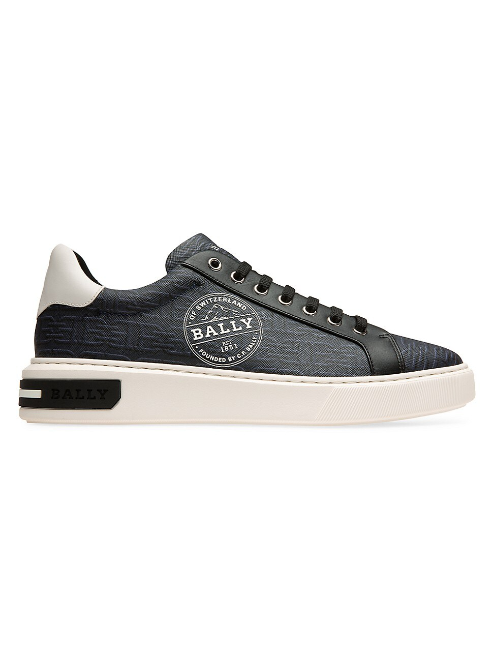 Bally MEN'S MIKY LEATHER SNEAKERS