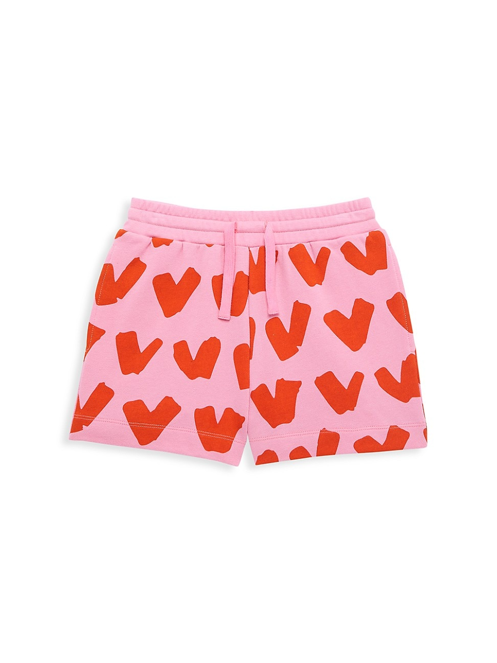 Stella Mccartney LITTLE GIRL'S & GIRL'S HEART PRINT SWEATSHORT