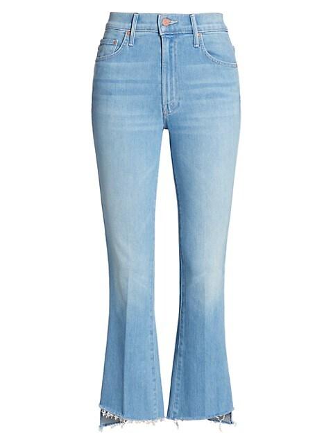 The Insider Crop Step-Hem Jeans