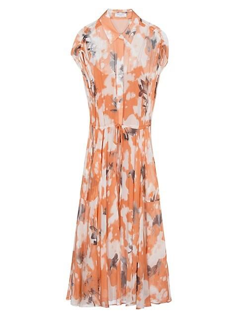 Didier Floral Silk Dress