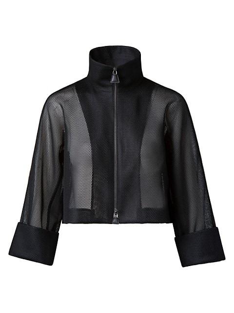 Mimi Short Stand Collar Jacket