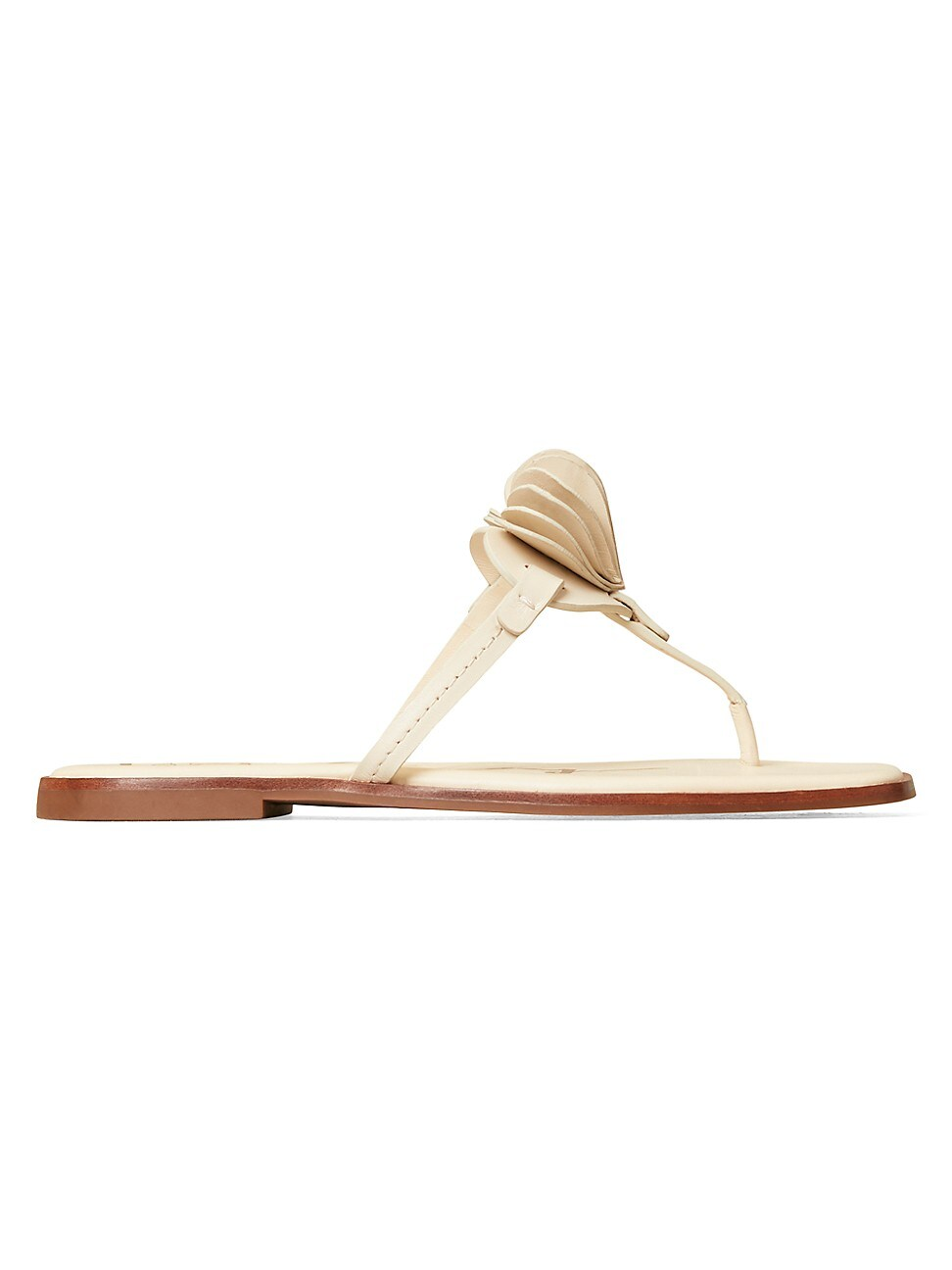 Tory Burch WOMEN'S HEART LEATHER THONG SANDALS