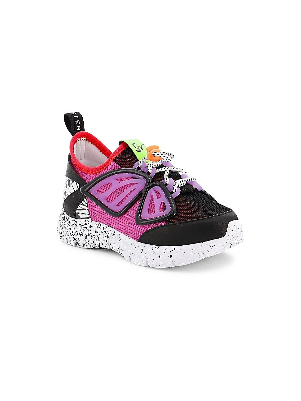 Sophia Webster Baby's, Little Girl's And Girl's Fly-by Sneakers In Black Purple