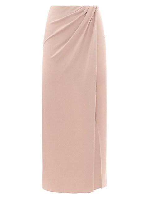 Gabrielle Maxi Wrap-Effect Maxi Skirt